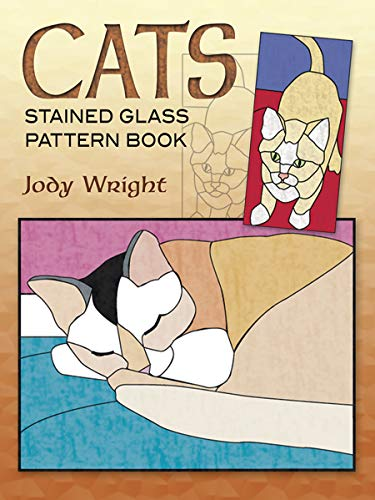 9780486461946: Cats Stained Glass Pattern Book (Dover Stained Glass Instruction)