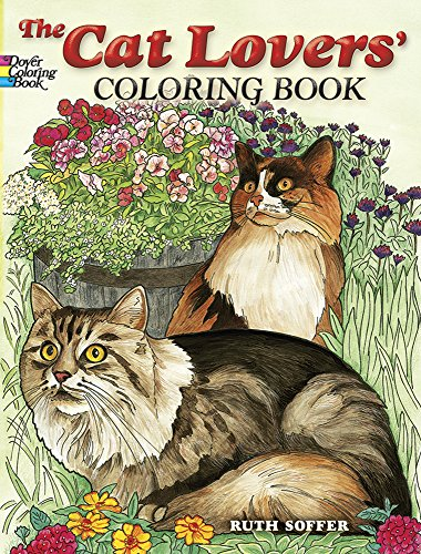 The Cat Lovers Coloring Book Dover Books