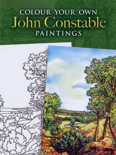 9780486462011: Colour Your Own John Constable Paintings (Dover Art Coloring Book)