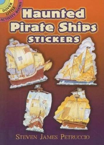 9780486462158: Haunted Pirate Ships Stickers (Dover Little Activity Books Stickers)