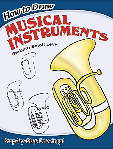 9780486462202: How to Draw Musical Instruments (Dover How to Draw)