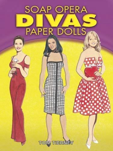 9780486462226: Soap Opera Divas Paper Dolls (Dover Celebrity Paper Dolls)