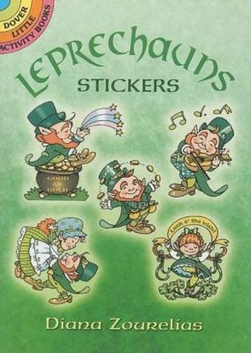 Leprechauns Stickers (Dover Little Activity Books Stickers): Diana Zourelias