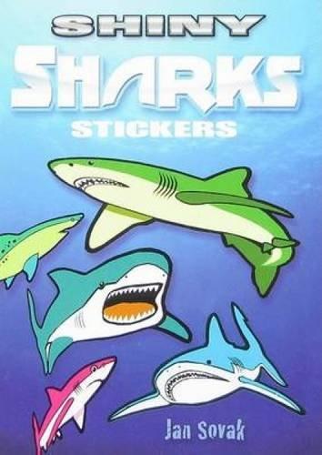 Shiny Sharks Stickers (Dover Little Activity Books: Jan Sovak