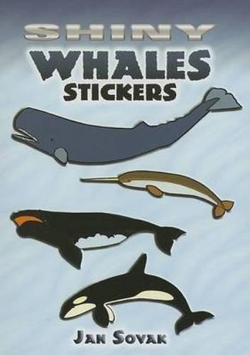 Shiny Whales Stickers (Paperback): Jan Sovak