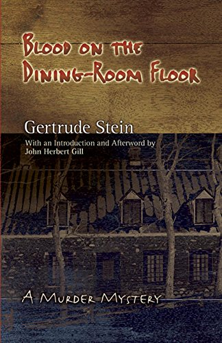 9780486462363: Blood on the Dining-Room Floor: A Murder Mystery (Dover Books on Literature & Drama)