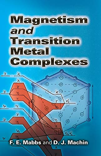 9780486462844: Magnetism and Transition Metal Complexes (Dover Books on Chemistry)