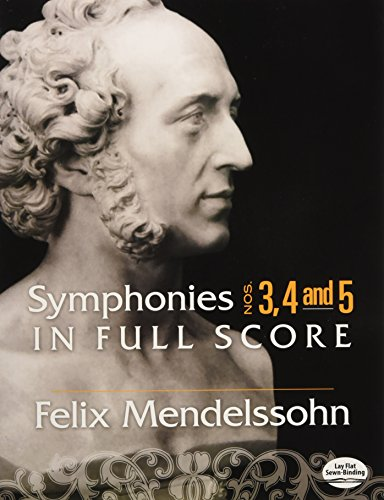 9780486464152: Symphonies Nos. 3, 4 and 5 in Full Score