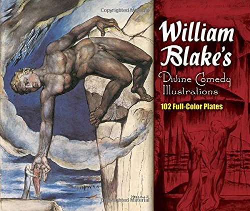 9780486464299: William Blake's Divine Comedy Illustrations (Dover Fine Art, History of Art)