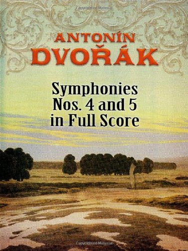 9780486464381: Symphonies Nos. 4 and 5 in Full Score