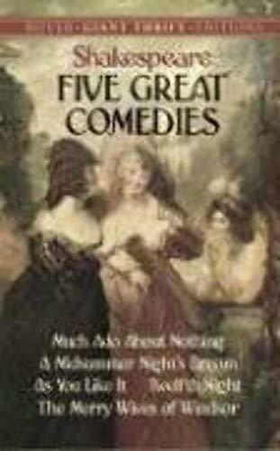 9780486464459 Five Great Comedies Abebooks 0486464458