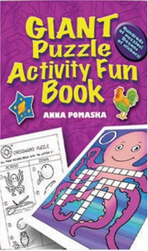 Giant Puzzle Activity Fun Book (Giant-Sized Colouring and Activity Collections): Anna Pomaska