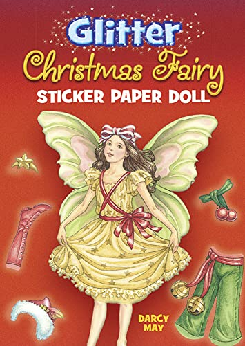 9780486465364: Glitter Christmas Fairy Sticker Paper Doll (Dover Little Activity Books Paper Dolls)