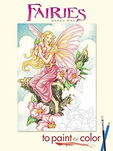9780486465449: Fairies to Paint or Color (Dover Art Coloring Book)