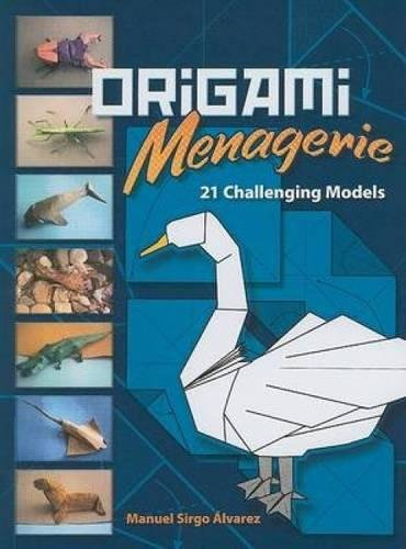 9780486465937: Origami Menagerie: 21 Challenging Models (Dover Origami Papercraft)