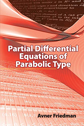 9780486466255: Partial Differential Equations of Parabolic Type (Dover Books on Mathematics)