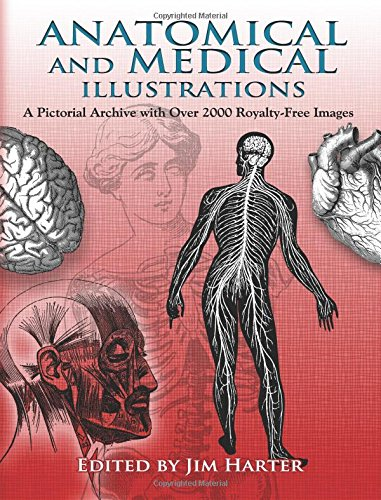 9780486467528: Anatomical and Medical Illustrations: A Pictorial Archive With over 2000 Royalty-Free Images