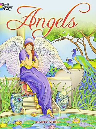 9780486467757: Angels Coloring Book (Dover Coloring Books)