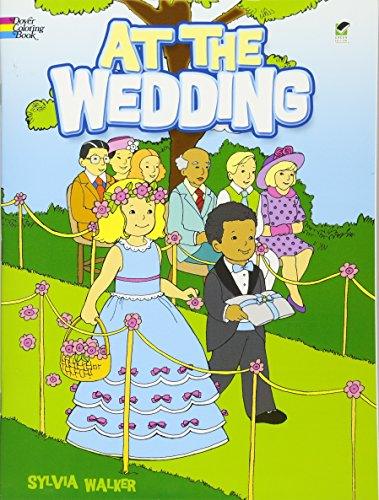 9780486467788: At the Wedding (Dover Coloring Books)
