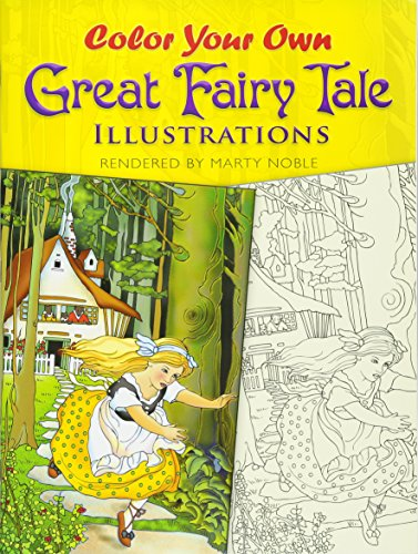 9780486467887: Color Your Own Great Fairy Tale Illustrations (Dover Art Coloring Book)