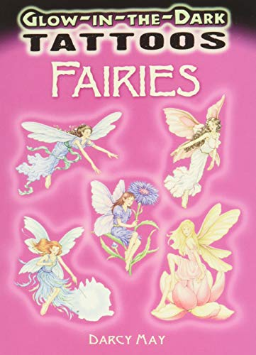 GLOW-IN-THE-DARK TATTOOS FAIRIES (6 tattoos on 2: May, Darcy