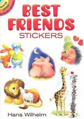 9780486468396: Best Friends Stickers (Dover Little Activity Books Stickers)