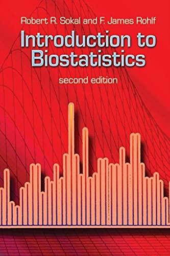 9780486469614: Introduction to Biostatistics: Second Edition (Dover Books on Mathematics)
