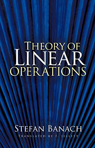 9780486469836: Theory of Linear Operations (Dover Books on Mathematics)