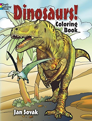 9780486469874: Dinosaurs! Coloring Book (Dover Nature Coloring Book)