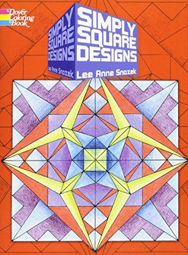 9780486469928: Simply Square Designs (Dover Design Coloring Books)