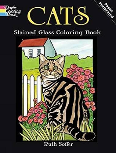 9780486469942: Cats: Stained Glass Coloring Book