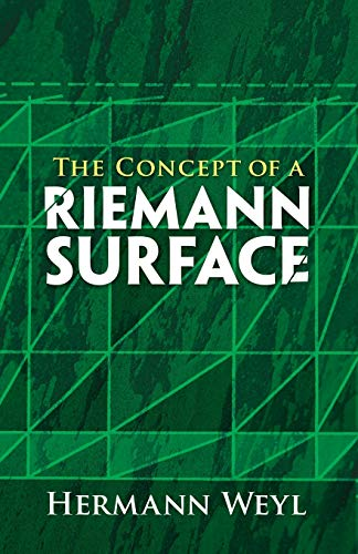 9780486470047: The Concept of a Riemann Surface (Dover Books on Mathematics)