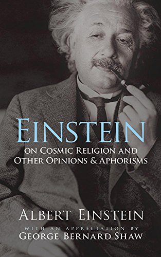 9780486470108: Einstein on Cosmic Religion and Other Opinions and Aphorisms