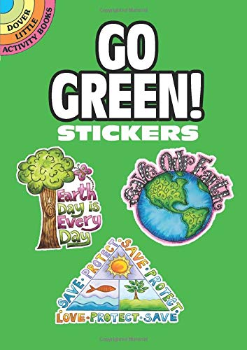 9780486470207: Go Green! Stickers (Dover Little Activity Books Stickers)