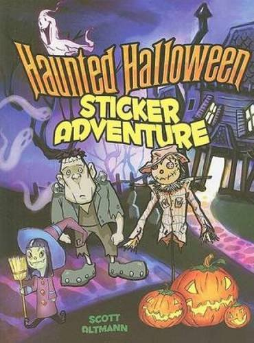 9780486470221: Haunted Halloween Sticker Adventure (Dover Sticker Books)