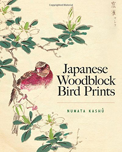 Japanese Woodblock Bird Prints: Numata Kashu