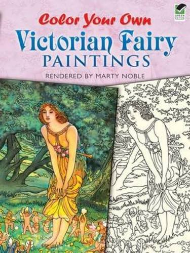 9780486470511: Color Your Own Victorian Fairy Paintings (Dover Art Coloring Book)