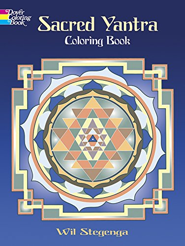 9780486470818: Sacred Yantra Coloring Book (Dover Design Coloring Books)