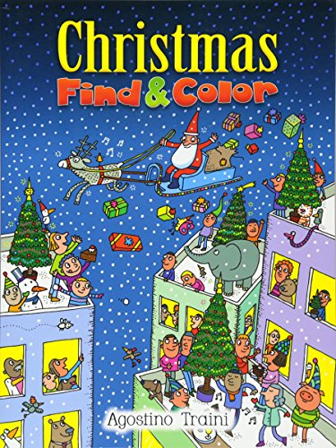 9780486471129: Christmas Find and Color (Dover Children's Activity Books)