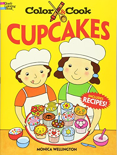 9780486471136: Color and Cook Cupcakes (Dover Coloring Books)