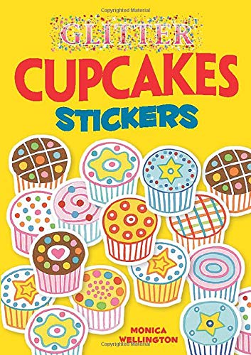 9780486471266: Glitter Cupcakes Stickers (Dover Little Activity Books Stickers)