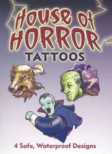 9780486471334: House of Horror Tattoos (Dover Tattoos)