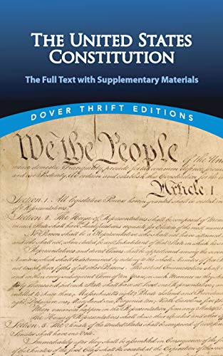 9780486471662: The United States Constitution: The Full Text with Supplementary Materials (Dover Thrift Editions)