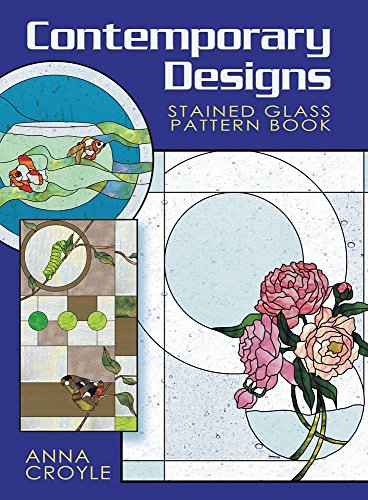 9780486471761: Contemporary Designs Stained Glass Pattern Book