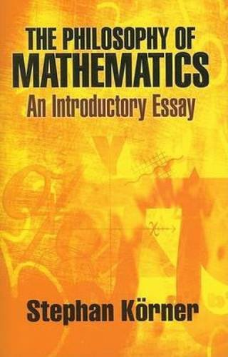 9780486471853: The Philosophy of Mathematics: An Introductory Essay (Dover Books on Mathematics)