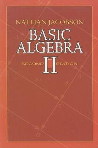 9780486471877: Basic Algebra II: Second Edition (Dover Books on Mathematics)