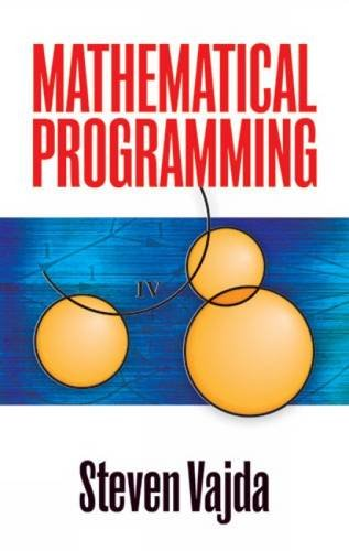 9780486472133: Mathematical Programming
