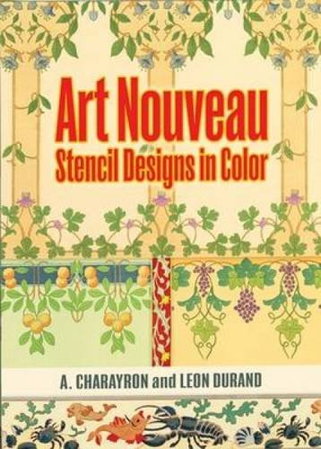9780486472164: Art Nouveau Stencil Designs in Color