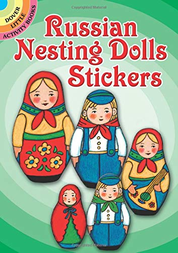 9780486472416: Russian Nesting Dolls Stickers (Dover Little Activity Books Stickers)