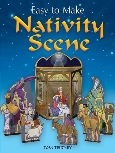 9780486472768: Easy-to-Make Nativity Scene